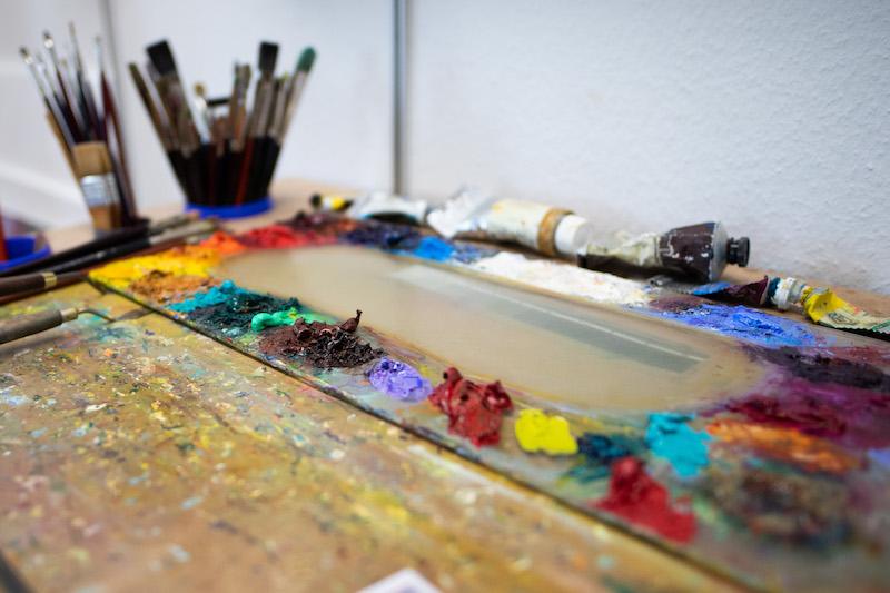 Mein Atelier