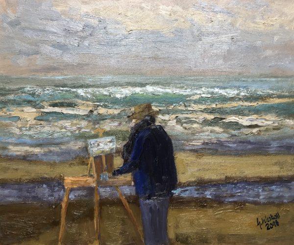 Die Malerin Katwijk aan See 2018