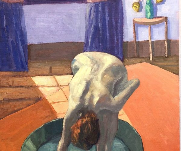 Edward Degas Le Tub 30x60