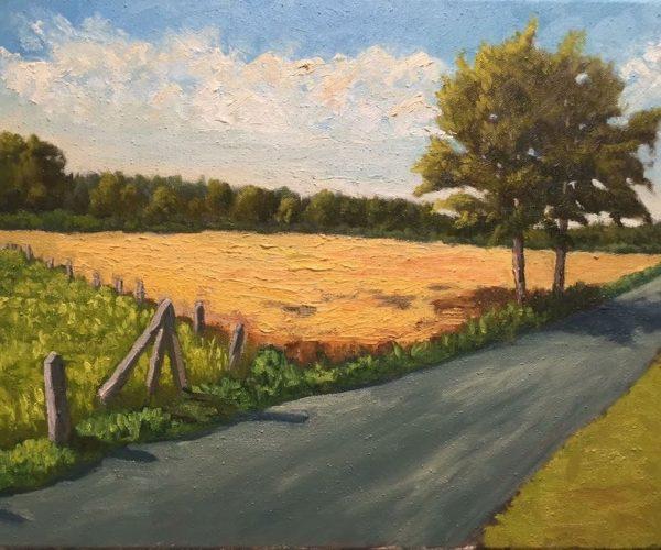 My Way II - Öl auf Baumwoll Canvas - 50x40cm